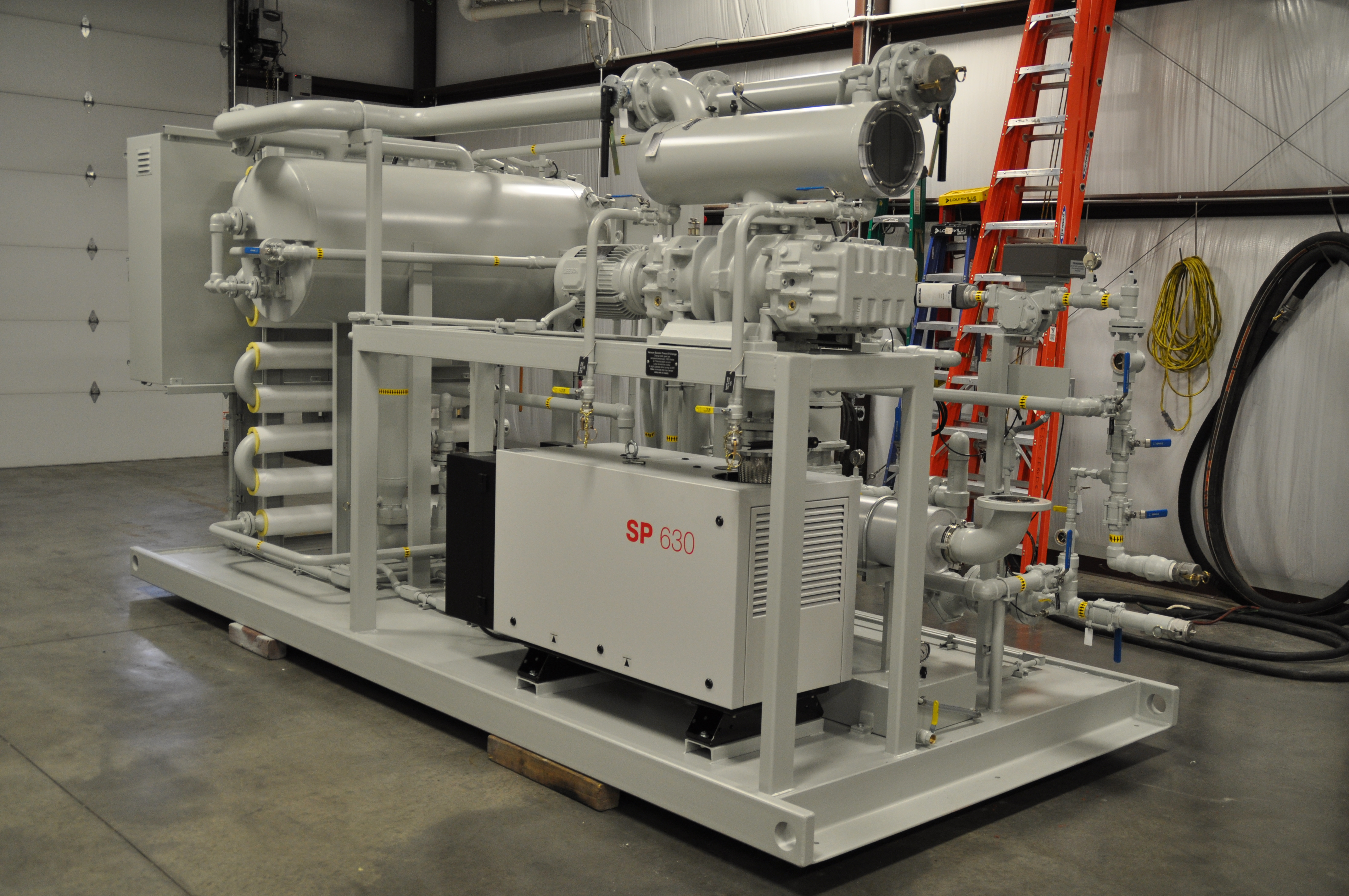 Skid Mounting | SESCO - Insulating Oil Purifiers, Transformer