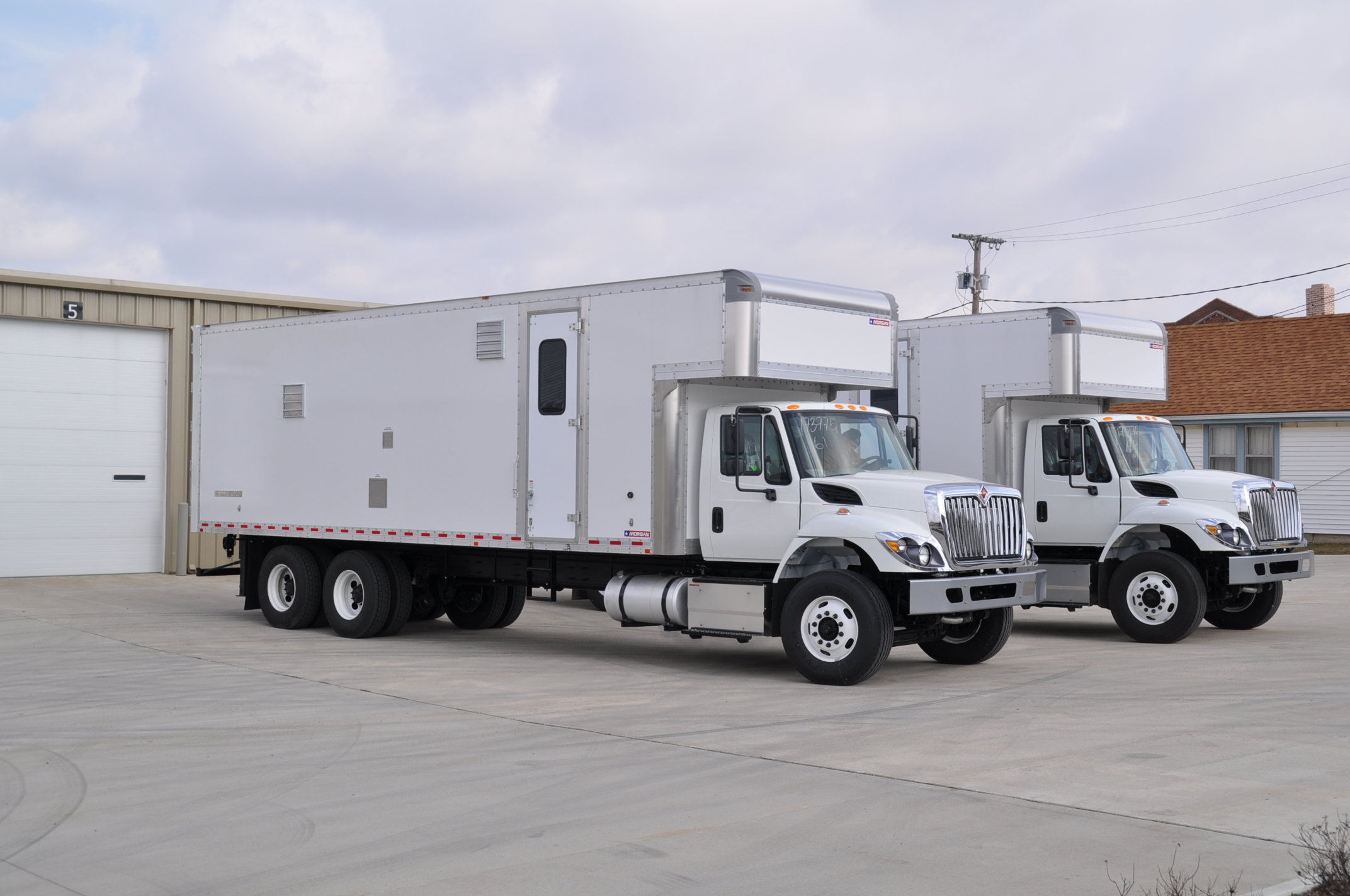 Straight Truck Mounting Sesco Insulating Oil Purifiers